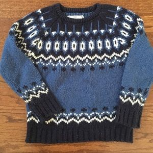 Zara boys sweater size 5-6
